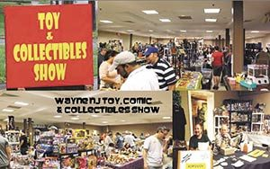 Nostalgia Paradise At Wayne, NJ Toy Show