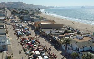 Cayucos Antique Street Fair in California