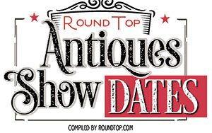 Round Top Antiques Show dates logo