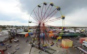 Ferris Wheel at Mile High Flea Market