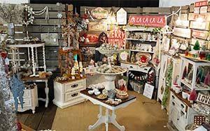 Vendor booth at The Spare Room Vintage Flea Market