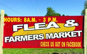 Ava's Flea Market Sign