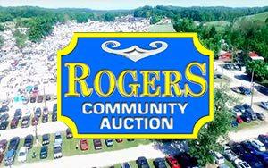 Roger's Community Auction logo