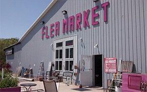 Me & My Sisters Flea market indoor entrance