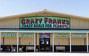 Crazy Franks Building Entry