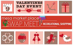 Mesa Market Valentines Day Event Banner