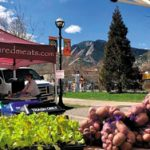 Boulder Market with mountains