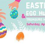 Graphi sign Eatser Egg Hunt