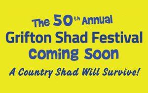 Grifton Shad Festival sign