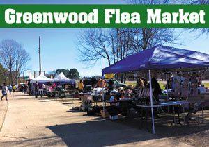 Greenwood market outdoor space